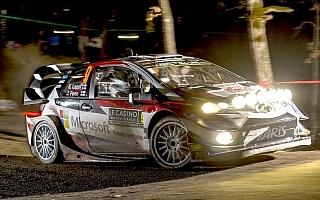 WRCモンテカルロ初日、3台のトヨタ・ヤリスWRCは4-6位発進