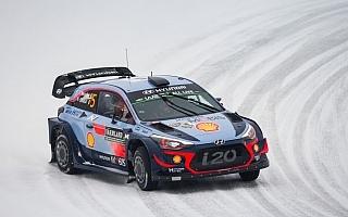 WRCスウェーデン:ヒュンダイのヌービルが今季初優勝