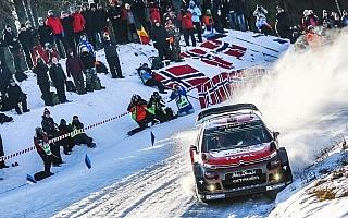 シトロエン、WRCスウェーデンはサードカーにオストベルグ起用
