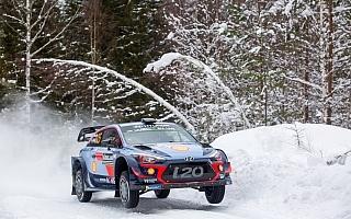 WRCスウェーデン:シェイクダウンはヌービルがトップタイム