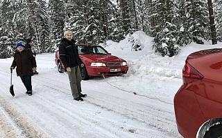 困った時はお互い様 ニャオキのホゲホゲWRC@スウェーデン日記その1
