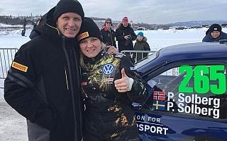 ソルベルグ夫妻、WRCスウェーデン併催のクラシックラリーでクラス優勝