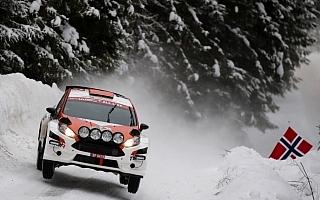 WRCスウェーデン:WRC2部門はSS8を終えて勝田貴元がトップ