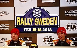 WRCスウェーデン:勝田貴元「ターゲットはラリーフィンランド」WRC2ポスト会見