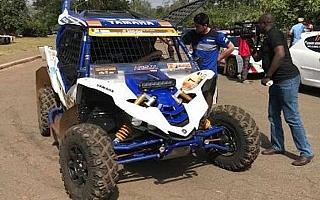 アフリカ選手権開幕戦にステファン・ペテランセルがSxS車両で登場