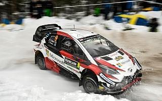 WRCスウェーデン:ヤリスWRCは全3台がデイ2を走破、出走順がタイムに影響
