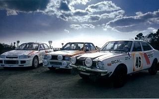 メガウェブで『三菱ラリー車 特別展示』 3台のランサーを展示