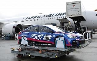 スバルWRX STI NBRチャレンジ、ドイツに向けて出発
