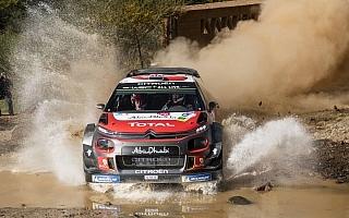 WRCメキシコ:シェイクダウンはシトロエンのミークがトップ