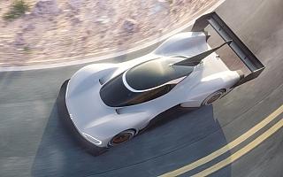 フォルクスワーゲン、電気自動車のプロトタイプレーシングカー、I.D. Rパイクスピークを発表