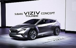 スバル、ジュネーブで「SUBARU VIZIV TOURER CONCEPT」を世界初公開