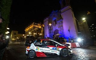 WRCメキシコ:SS1でタナクが2番手タイム、3台のヤリスが揃ってトップ5以内に