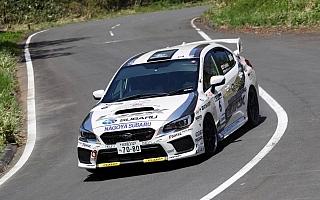 全日本ラリー丹後:スバルの勝田範彦が今季初勝利