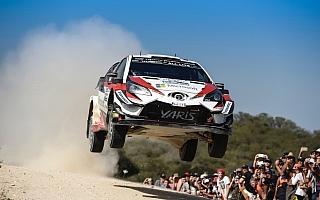 WRCアルゼンチン:競技2日目を終えてトヨタのタナクが総合首位