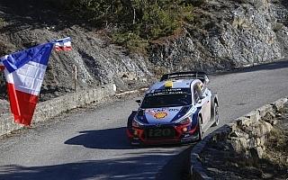 ヒュンダイ、WRCフランスでマニュファクチャラーズ選手権首位を固める構え