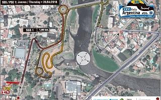 WRCアルゼンチン、初日スーパーSSのコースを変更