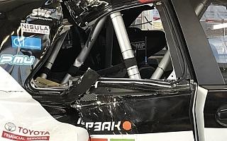 ラトバラ車には痛々しいダメージが ニャオキ&イヌスケのホゲホゲWRC@フランスその4