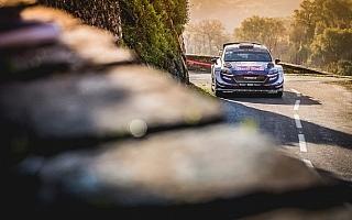 WRCフランス:デイ1からオジエが独走体制、ローブはSS2でまさかのクラッシュ