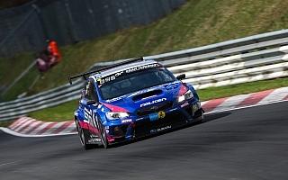 NBR予選レース、WRX STIは駆動系トラブルでリタイヤ