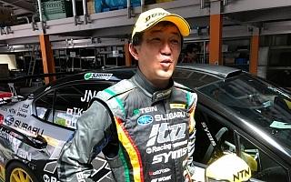 全日本ラリー丹後:SS3を終えて鎌田が首位「無理せずこのペースをキープしたい」