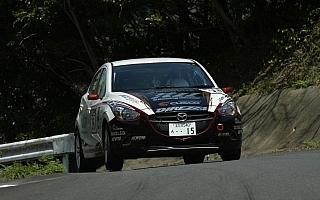 岡田孝一、全日本ラリー復帰戦でJN3クラス3位表彰台