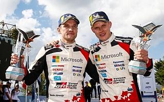 WRCアルゼンチン:タナックが首位を守りきりトヨタ今季初優勝、週末を通して強さを発揮