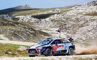 WRCポルトガル:ヌービル、選手権タイトルのチャンス拡大をかけ首位で最終日へ