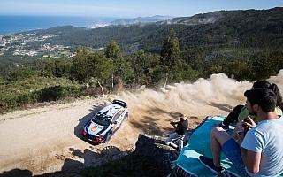 WRCポルトガル:競技2日目を終えヒュンダイのヌービルがラリーをリード