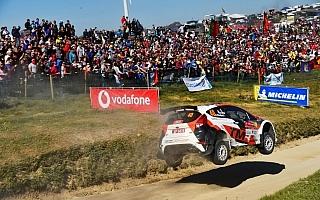 WRCポルトガル:新井大輝は部門5位、勝田貴元は13位フィニッシュ