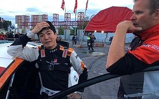 WRCポルトガル:デイ2を終えて新井大輝がWRC2部門8番手、勝田貴元はデイリタイア