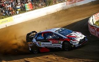 WRCポルトガル:タナックが開幕ステージでトップタイム、スニネンがオジエと同タイムの2番手