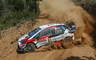 WRCポルトガル:トヨタ受難のデイ2、ラッピが総合5位 ラトバラとタナックはリタイア