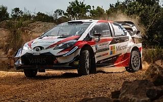 WRCイタリア:トヨタのラトバラがシェイクダウンで一番時計