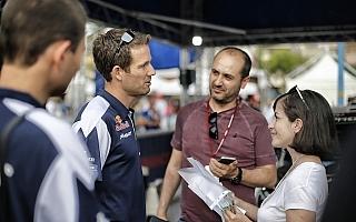 WRCイタリア:オジエ「ヌービルは間違いなく自分より雨ごいがうまい」プレ会見