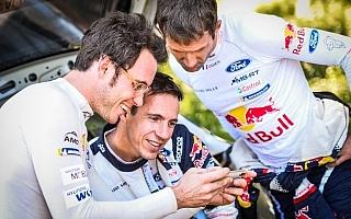 WRCイタリア:ヌービル「全開で攻めていたのは自分だけじゃない」イベント後記者会見