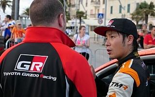 WRCイタリア:デイ2を終えて勝田貴元はWRC2部門5番手につける