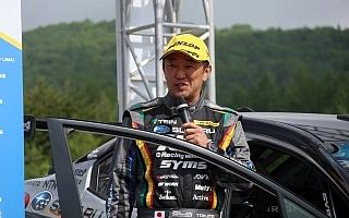 全日本ラリー モントレー:SS4を終え鎌田が首位、1.4秒差に3台がひしめく僅差のバトル