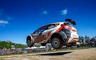 WRCイタリア:WRC2部門の勝田と新井はともに完走ならず