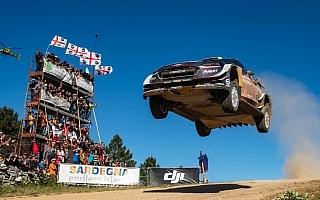 WRCイタリア:競技3日目を終えてオジエが首位キープ