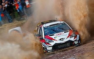 WRCイタリア:SS1はトヨタのラッピが6番手発進「ラリーは明日からが本当の戦い」