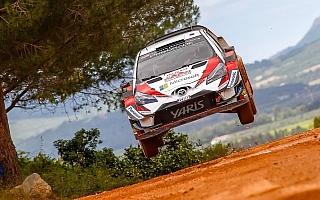 WRCイタリア:デイ2を終えてトヨタのラトバラが総合3位、ラッピが総合4位につける