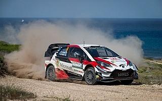 WRCイタリア:ラッピが総合3位で今季初の表彰台フィニッシュ