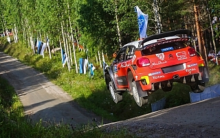 シトロエン、フィンランドに向けてC3 WRCのフロントジオメトリーを一新