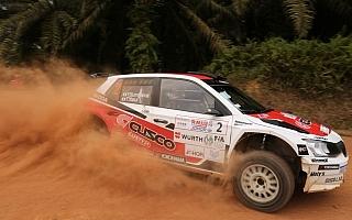 APRCマレーシア:ファビアR5の炭山が初日トップ