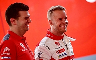 WRCフィンランド:シェイクダウンはオストベルグがトップ