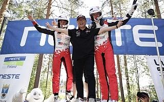 WRCフィンランド1-3フィニッシュに豊田章男社長がコメントを発表