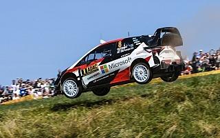 WRCドイツ:タナク、最終日に向け盤石。オジエはパンクで後退