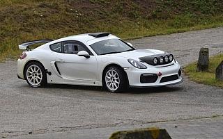 WRCドイツにケイマンGT4クラブスポーツ投入のポルシェ「ラリー界の反応が楽しみ」