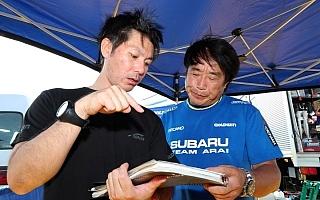 全日本ラリーいわき:ランキングトップの新井敏弘、新登場の舗装SSを警戒