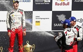 WRCドイツ:タナック「いい人だけど追いかけられたくはない」イベント後記者会見
